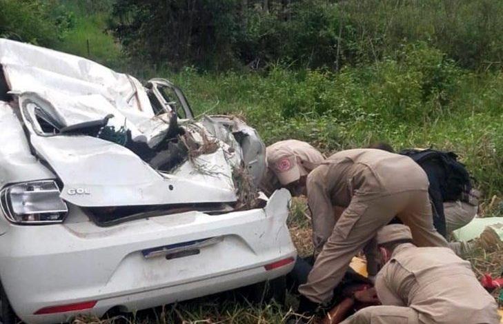 Grave acidente na BR-364 com casal deixa uma pessoa morta, em Rondônia
