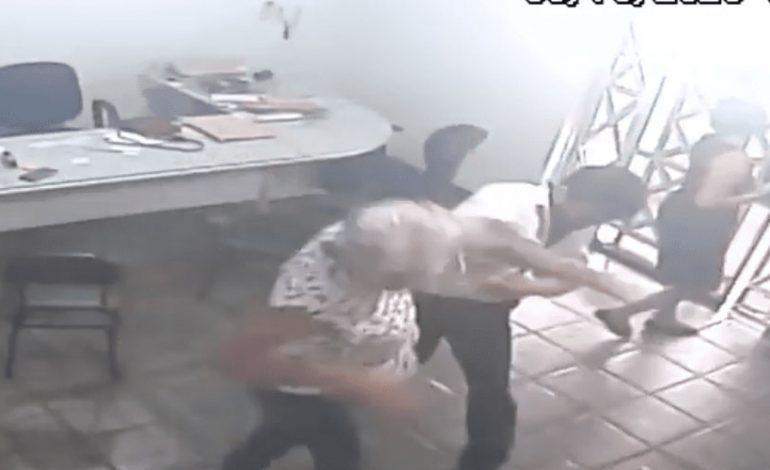 Em Porto Velho, advogado é filmado batendo em mulher. VÍDEO