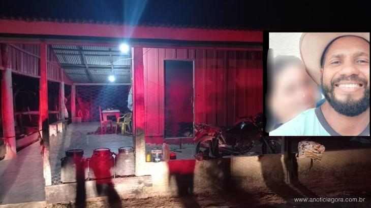 Rondônia – Homem de 33 anos é assassinado a tiro na zona rural