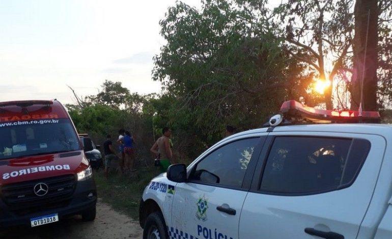 Corpo de ex-presidiário é encontrado boiando no Rio Machado com marca de tiro na cabeça e mãos amarradas