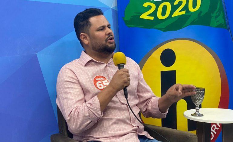 Samuel Costa é entrevistado em programa filiado a TV Cultura na capital
