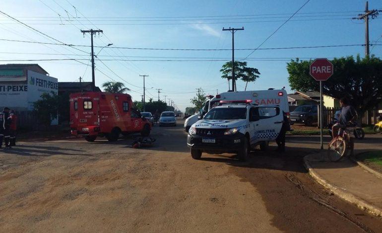Rondônia – Colisão entre caminhão e motocicleta mata jovem de 23 anos