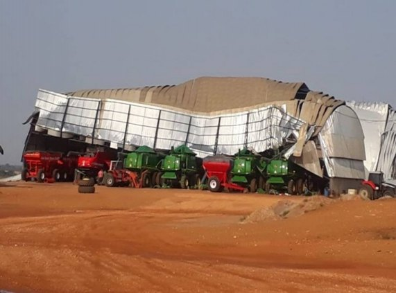 TEMPORAL: Forte ventania provoca destruição e prejuízo milionário em RO