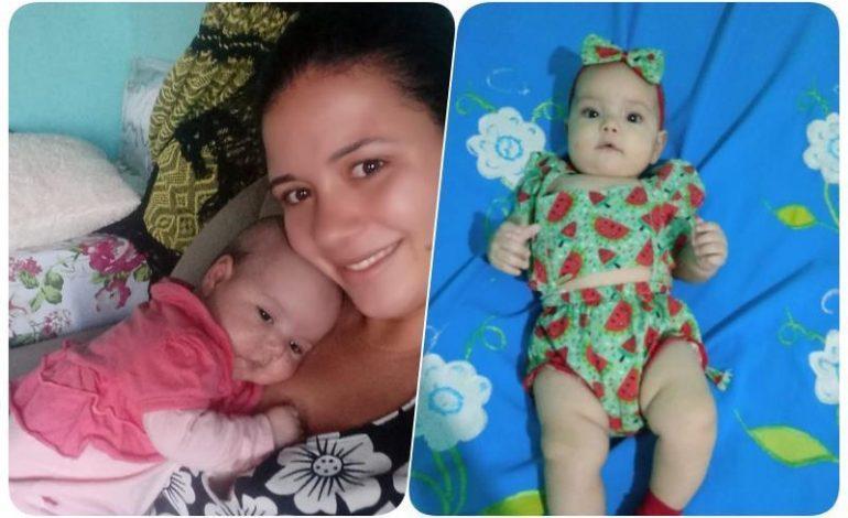 Conheça Elloah, a bebê que precisa urgente passar por uma cirurgia, mãe pede ajuda, em Rondônia