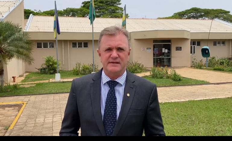 Deputado Luizinho Goebel participa de evento que autoriza construção de novo Fórum em Vilhena