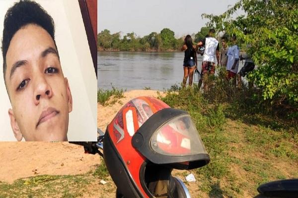 Jovem morre afogado no Rio Machado na tarde de domingo