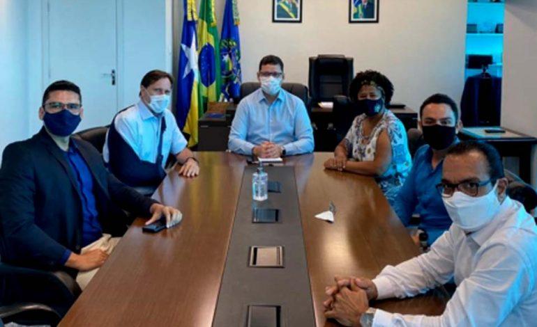 Senador Acir Gurgacz se reune com o governador Marcos Rocha para alinhamento político