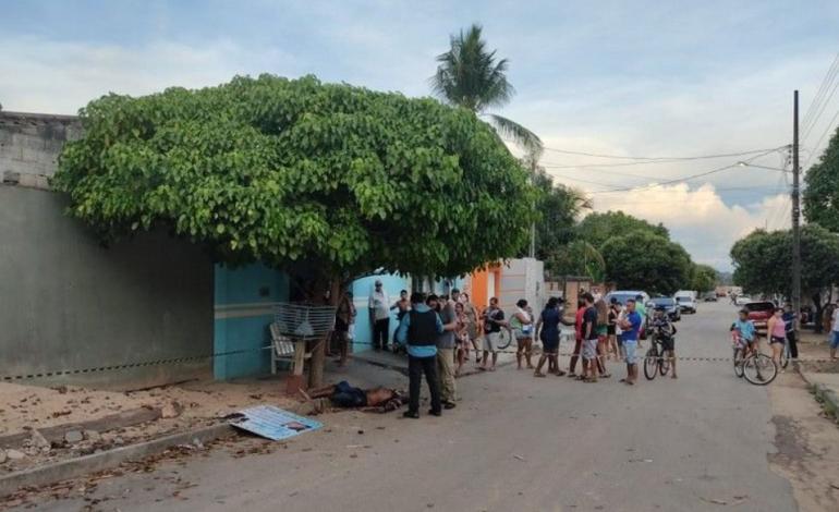 Marido enciumado mata homem que estava conversando com sua esposa no meio da rua, em Ji-Paraná
