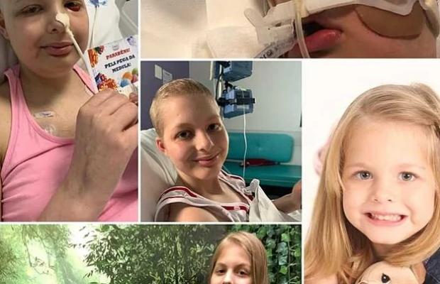 Familiares e amigos realizarão Pit Stop para ajudar Kayla no tratamento do câncer