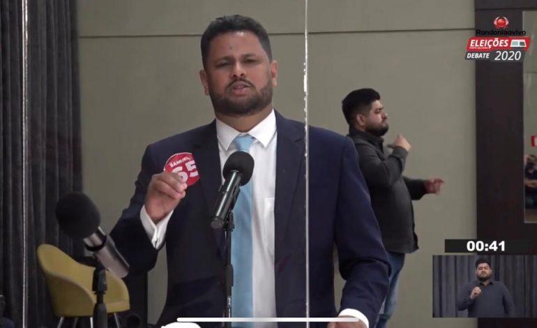 """Samuel Costa diz que prefeito de Porto Velho não deve negociar com governos """"de joelhos"""""""
