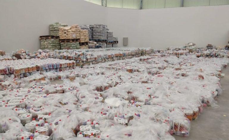 PF apreende 10 mil cestas básicas e investiga suposto uso de programa do governo para comprar voto