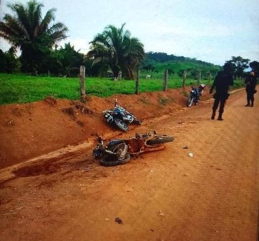 Rondônia – Homem de 62 anos morre em colisão entre motocicletas