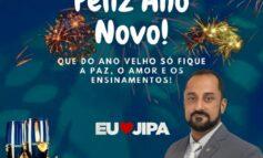 Mensagem de Ano novo do Vereador eleito Elvis Gomes á todos os Ji-paranaenses