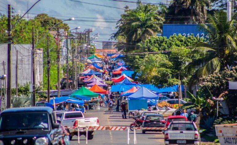 Autorizada a realização de feiras livres em Ji-Paraná