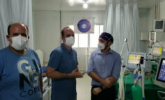 DEPUTADO ESTADUAL: Alan Queiroz fiscaliza unidades de saúde e anuncia 12 novos leitos de UTI