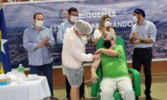 Deputado Alex Redano acompanha entrega da vacina contra o coronavírus aos municípios do Vale do Jamari