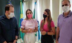 Deputado Alex Redano acompanha Mariana Carvalho e Alan Queiroz em encontro com prefeita de Ariquemes