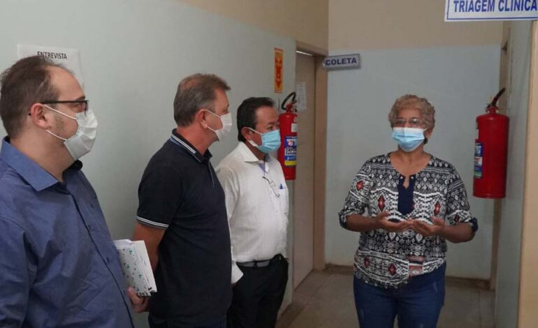 Deputado Luizinho Goebel visita Hemocentro de Vilhena e destaca importância da doação de sangue