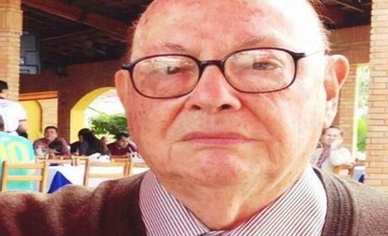 Vereador Fogaça lamenta morte do professor Juarez Américo do Prado