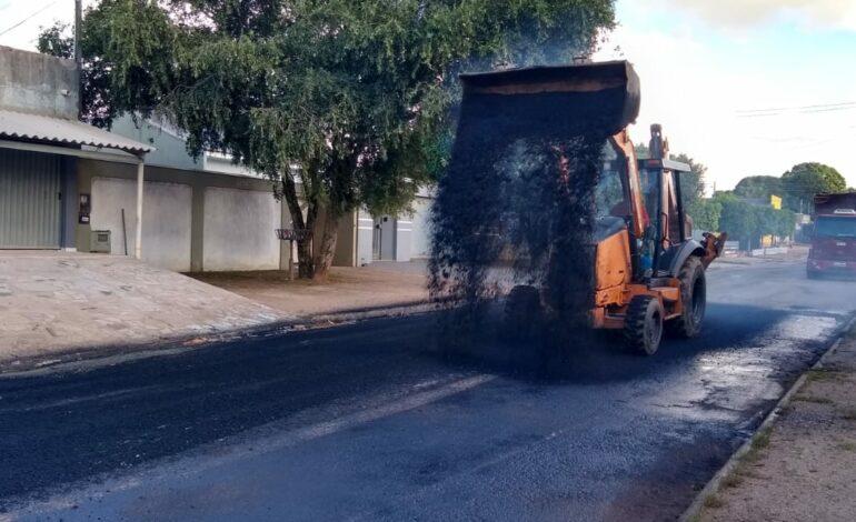 Ji-Paraná – Secretaria de Obras e Serviços Públicos intensifica os trabalhos