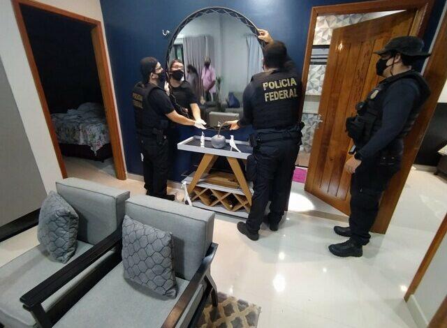 Operação da PF faz buscas e prisões de envolvidos em abastecer festas com drogas