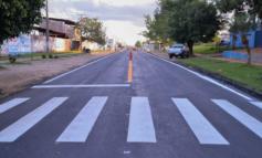 AMT inicia revitalização de sinalização nas vias urbanas de Ji-Paraná