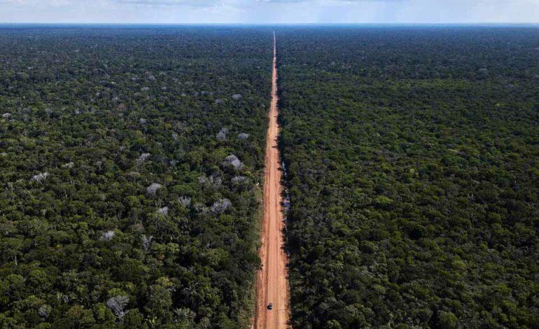Restauração da BR-319, que liga Porto Velho a Manaus, custará R$ 220 milhões ao Governo Federal