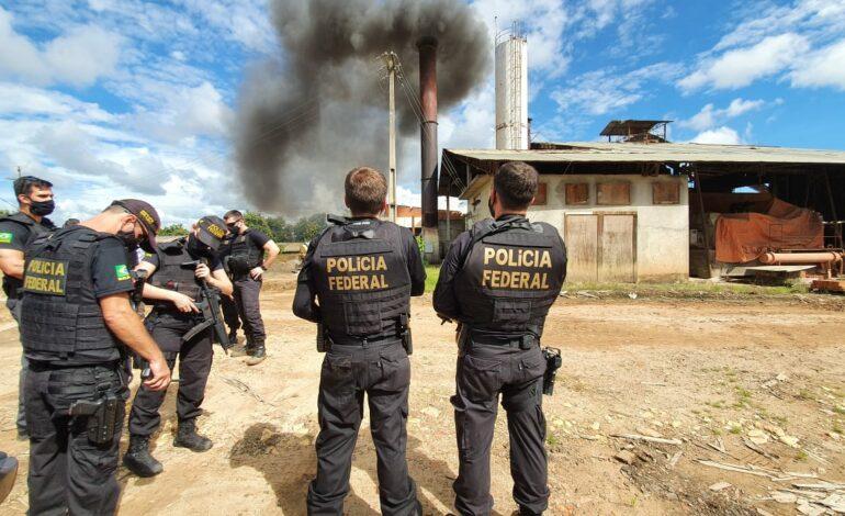 Polícia Federal incinera drogas em Ji-Paraná