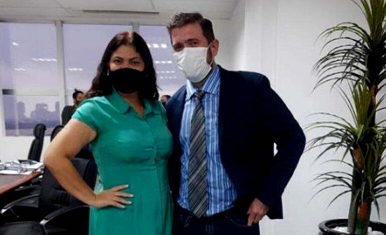 Vereador de Cacoal solicita visita da presidente da Comissão de Saúde da ALE-RO, deputada Cássia Muleta no HRC e Heuro
