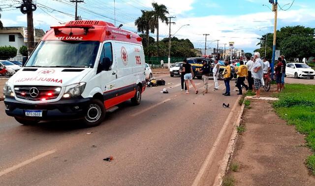 Mototaxista Morre Ao Colidir Contra Veículo S 10
