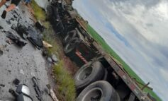 Trágico acidente com carreta de empresa de Ji-Paraná, mata motorista no MT
