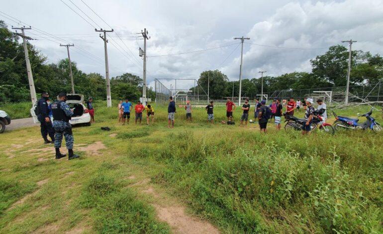 Polícia Militar intensifica fiscalização das medidas restritivas de combate ao Covid-19, em Ji-Paraná