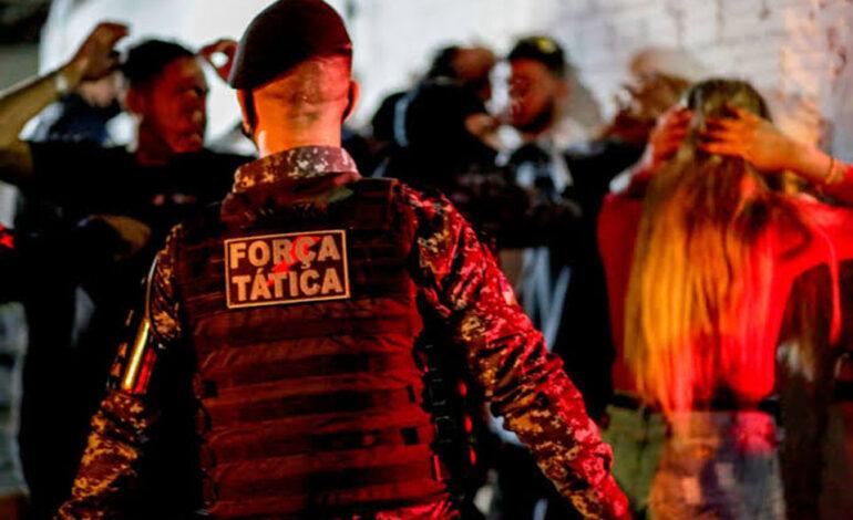 Polícia visita festas de patricinhas e playboyzinhos durante madrugada