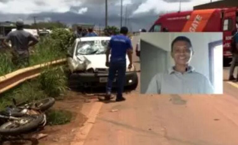 Motociclista morre após grave acidente de trânsito na BR-364