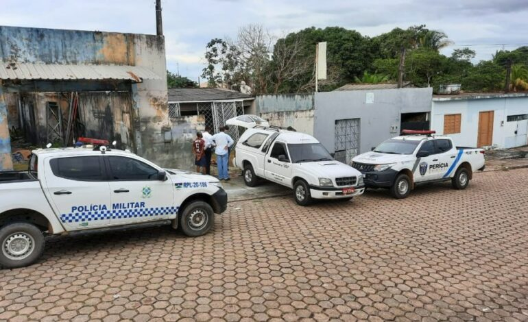 Corpo de homem é encontrado em casa abandonada na tarde deste domingo (28), em Ji-Paraná