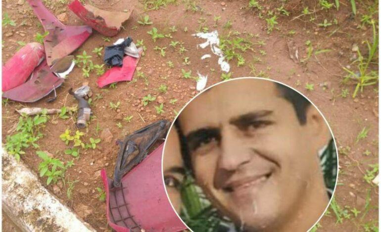 Funcionário do Atacadão bate moto em traseira de carreta estacionada e morre