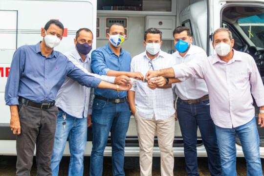 Semusa recebe ambulância UTI Móvel para atendimento de pacientes
