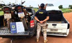 PRF recupera três veículos roubados e prende 3 homens em flagrante