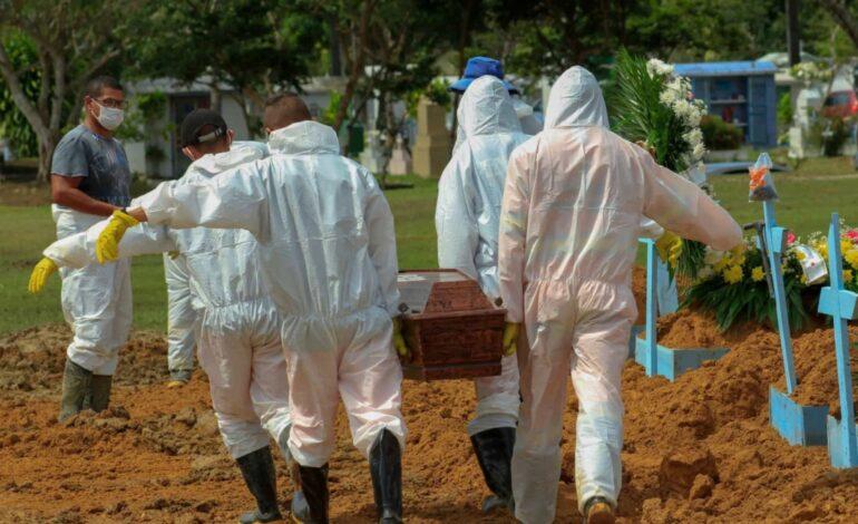 ASSUSTADOR – Brasil bate recorde com 3.780 mortes por Covid-19 em 24 horas