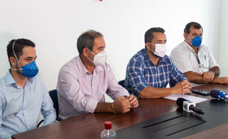 Prefeitura de Ji-Paraná promove entrevista coletiva