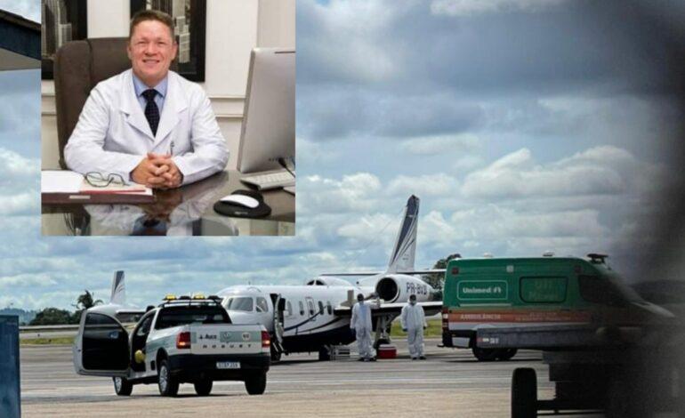Com Covid, Dr. Jorge Trubian é entubado e levado para São Paulo