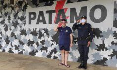 Sonho realizado: Jovem conhece a sede 3º BPM, anda de viatura e conhece o trabalho da Polícia Militar em Vilhena