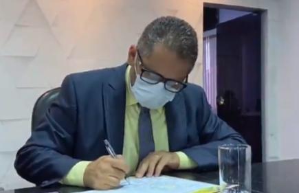 Vereador Marcelo Lemos solicita desinfecção de ruas e áreas públicas em Ji-Paraná