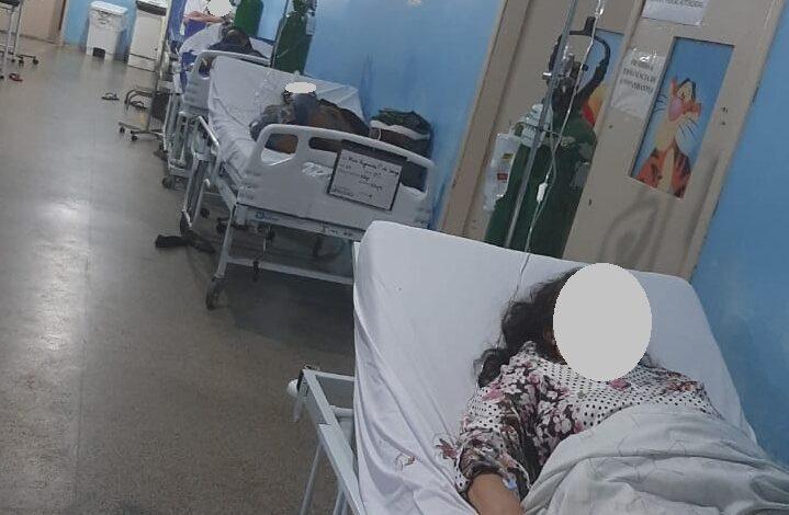 NÃO HÁ VAGAS: Imagens mostram situação desesperadora na UPA Sul de Porto Velho