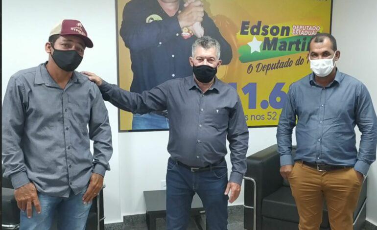 Nova Mamoré recebe materiais elétricos adquiridos com recurso do deputado Edson Martins