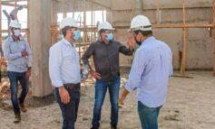 Cirone Deiró acompanha cronograma da execução das obras do aeroporto de Cacoal