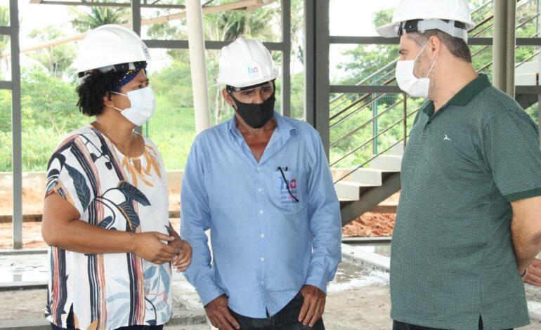 Centro de Diagnóstico do Hospital de Amor será entregue no 2º semestre, diz deputada a Marcelo Lemos (PSD)