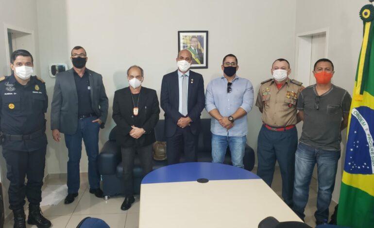 Ismael Crispin se reúne com cúpula da Segurança Pública e aponta preocupação com conflitos agrários