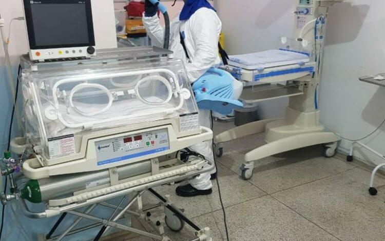 Hospital Municipal de Ji-Paraná recebe serviço de sanitização