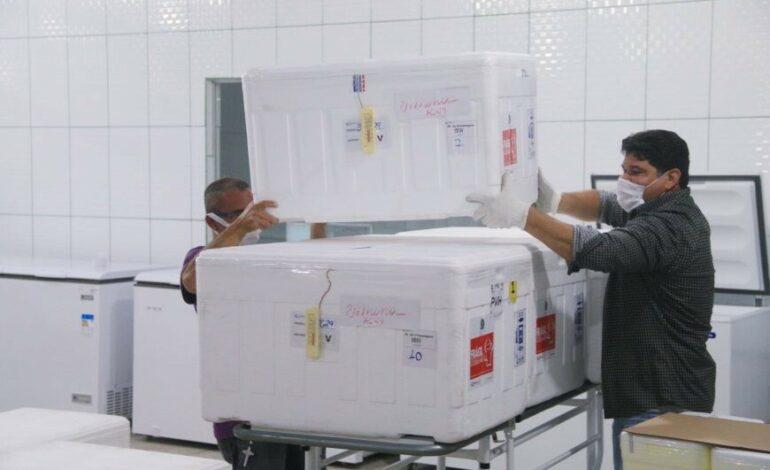 Rondônia recebeu 190 mil vacinas contra Coronavírus em 58 dias